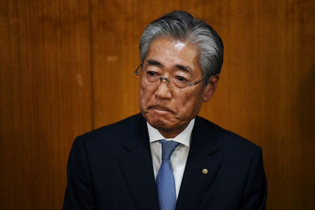 Takeda - chủ tịch Ủy ban Olympic Nhật Bản