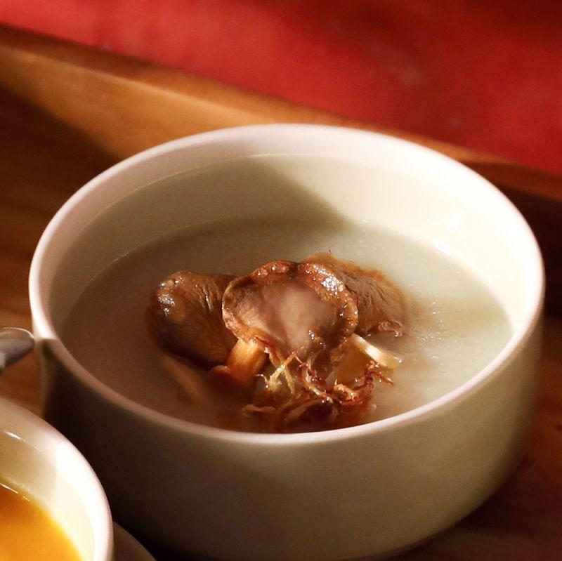 ヒカマとキノコのスープ