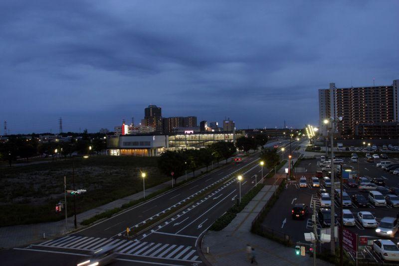 thành phố Inzai về đêm