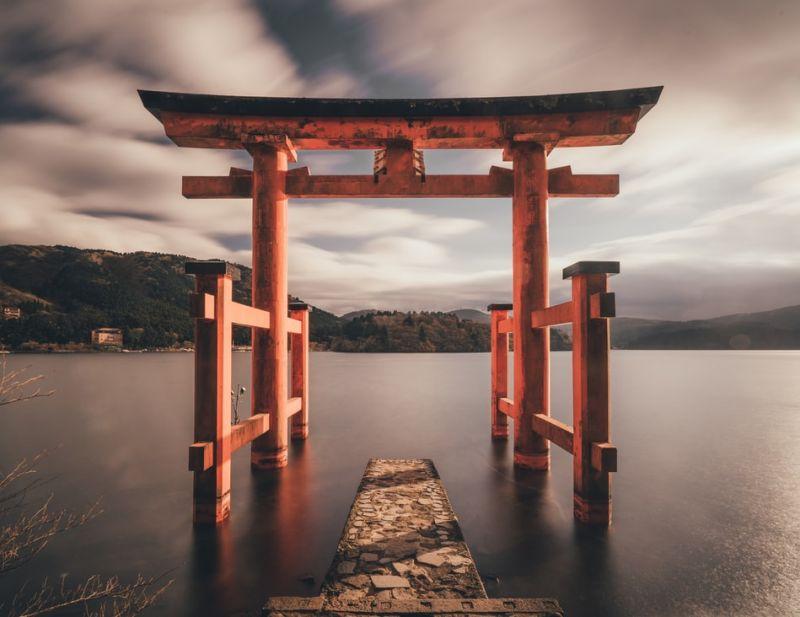 cổng tori Nhật Bản