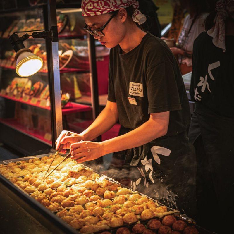 thiên đường ẩm thực Osaka