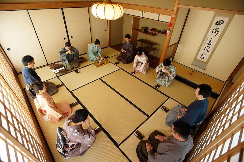 Một buổi lễ Hương đạo của Shoyeido tại Kyoto