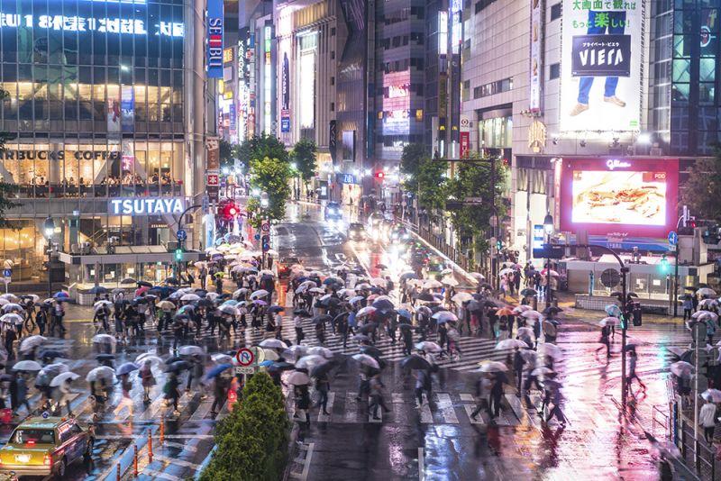 văn hóa sử dụng dù ở Nhật Bản