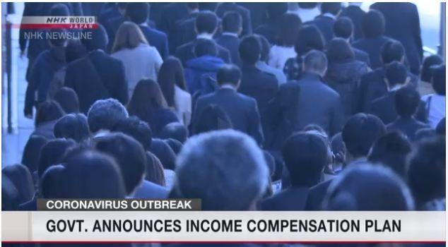 Chính phủ Nhật trợ cấp thu nhập