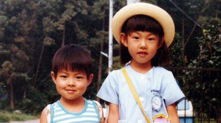 thống đốc hokkaido lúc nhỏ cùng chị gái
