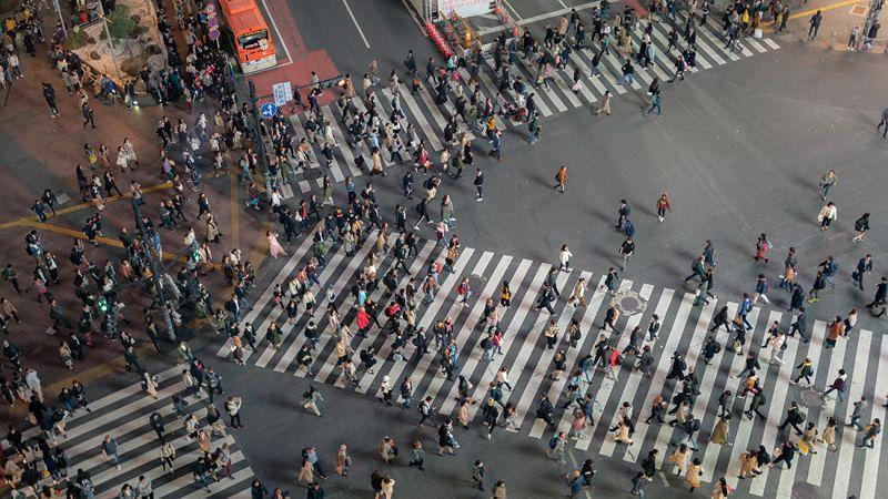 người nhật tập trung ở thành phố lớn