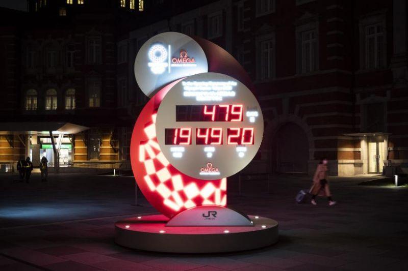 đồng hồ đếm ngược đến Olympic Tokyo