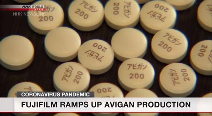 Fujifilm tăng cường sản xuất thuốc Avigan