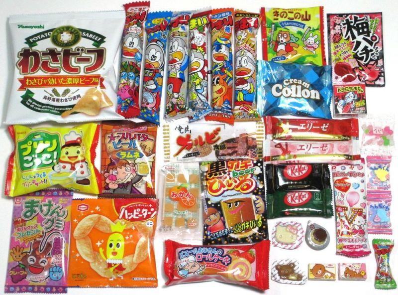 những món okashi