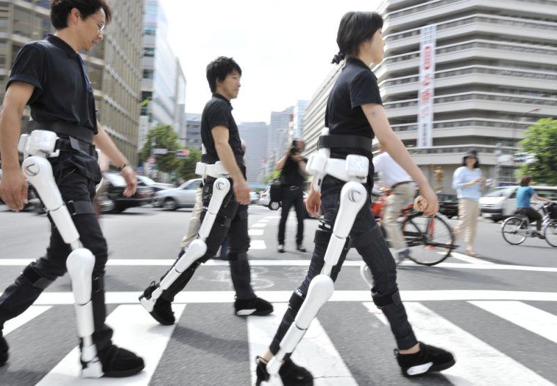 quần áo robot hỗ trợ đi lại