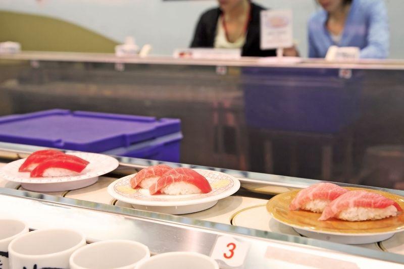 Sushi băng chuyền là gì