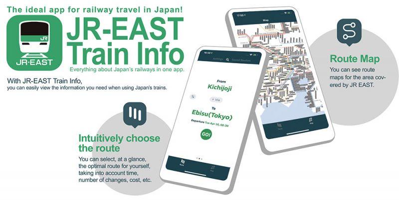 ứng dụng tránh giờ cao điểm JR East