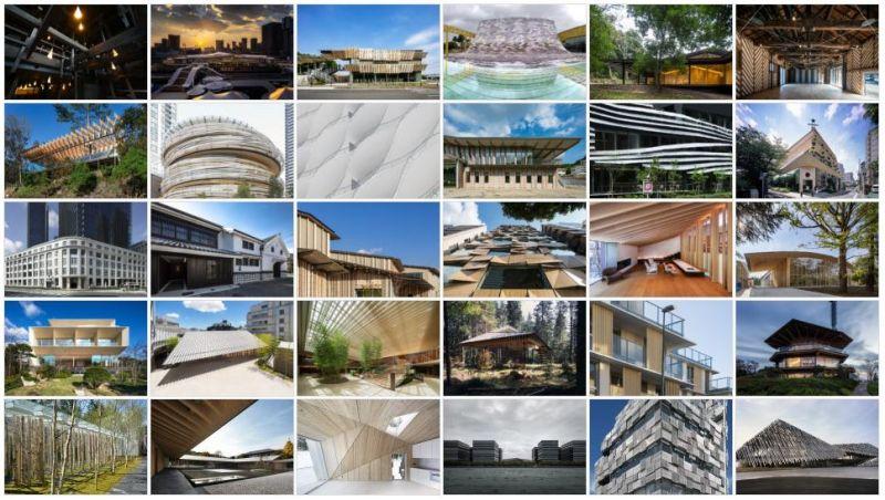 một số công trình của Kengo Kuma