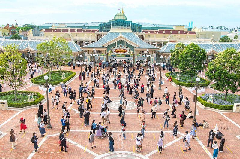 Tokyo Disneyland có những biện pháp chống dịch như thế nào?