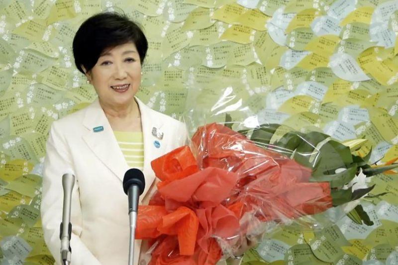bà Koike Yuriko tái đắc cử chức vụ thống đốc Tokyo