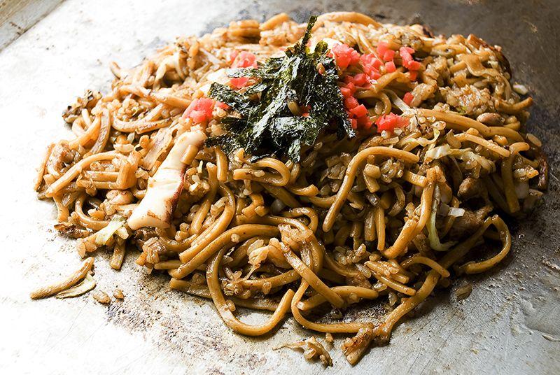 Sobameshi - Món cơm xào mì trứ danh của tỉnh Hyogo
