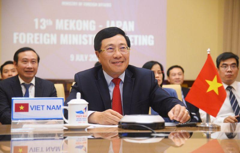 Nhật hỗ trợ vùng Mekong chống dịch và xây dựng dự án bền vững