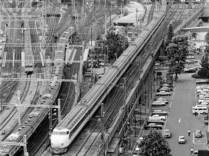 hành trình phát triển của Shinkansen