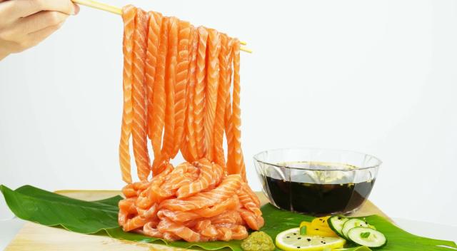 Sashimi Noodles Mukbang Set