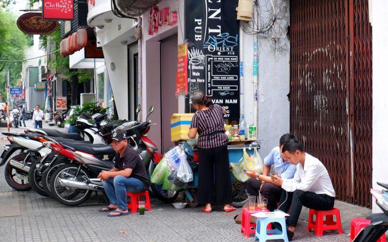 phố Nhật Thái Văn Lung - Lê Thánh Tôn