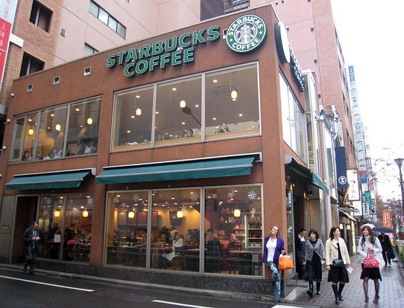 có bao nhiêu cửa hàng Starbucks ở Nhật Bản?