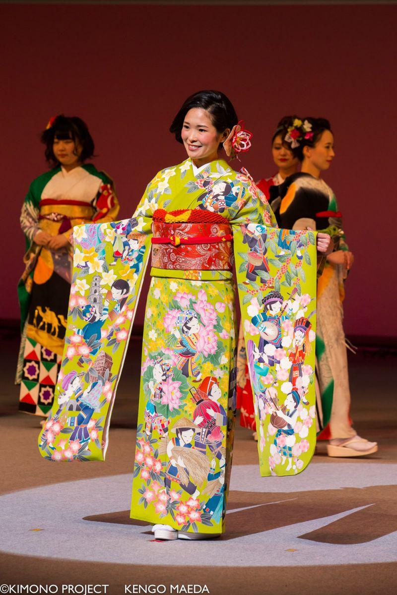Kimono dành riêng cho Việt Nam