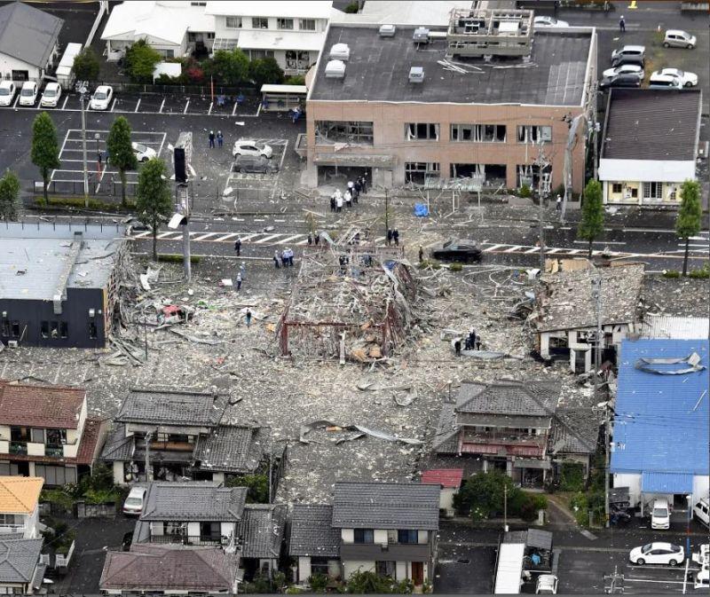nổ lớn tại Fukushima