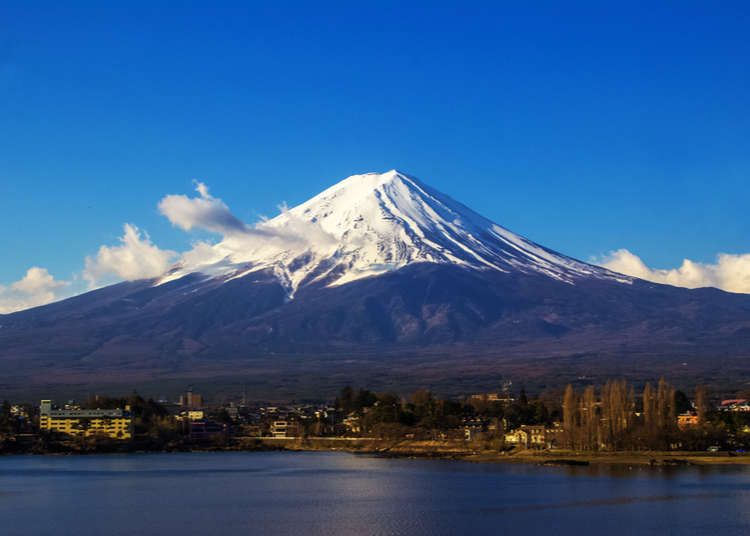 núi Phú Sĩ - biểu tượng của Nhật Bản