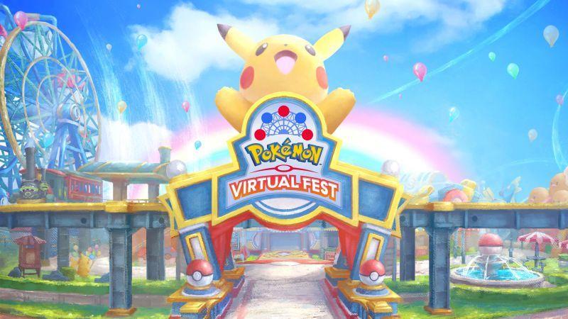 công viên giải trí ảo Pokémon Virtual Fest