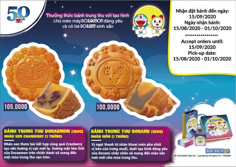 Family Mart cho ra mắt phiên bản mới của bánh trung thu Doraemon