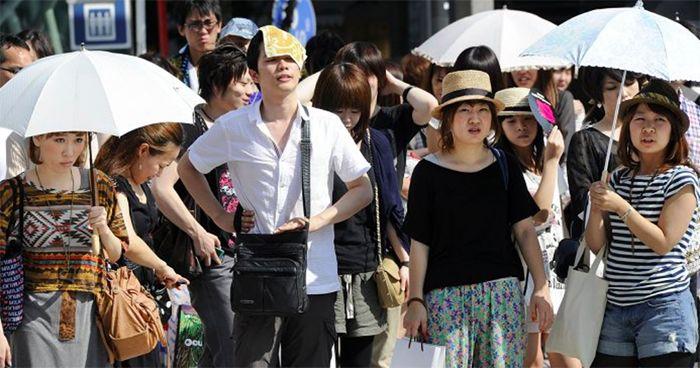 79 người qua đời vì nắng nóng ở Tokyo