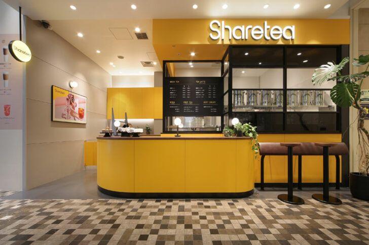 thương hiệu trà sữa Sharetea mở cửa hàng đầu tiên tại Nhật Bản
