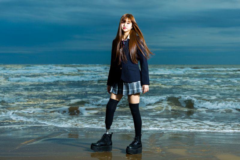 câu chuyện truyền cảm hứng của người mẫu nhí Nhật Bản