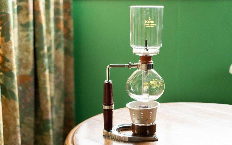 syphon - phong cách pha chế cà phê nhỏ giọt của người Nhật