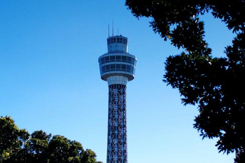 chiến dịch thắp sáng tháp Yokohama Marine để chia sẻ năng lượng tích cực