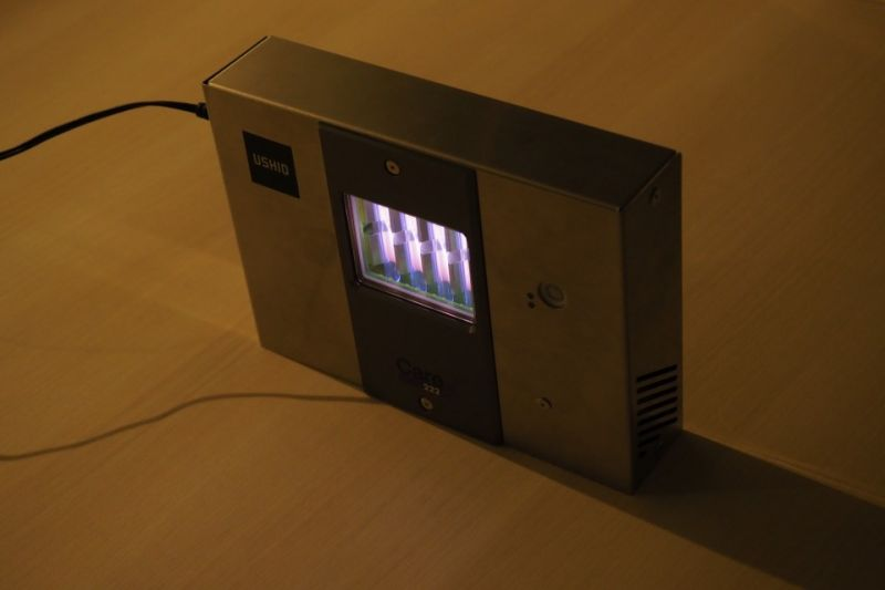 đèn UV chống virus COVID-19 đầu tiên trên thế giới