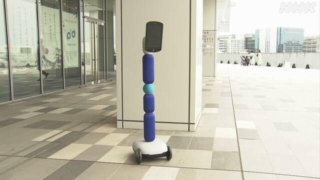 trải nghiệm mua sắm bằng robot điều khiển từ xa