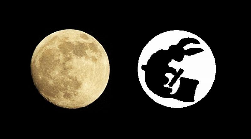 sự tích chú thỏ giã bánh giầy trên mặt trăng