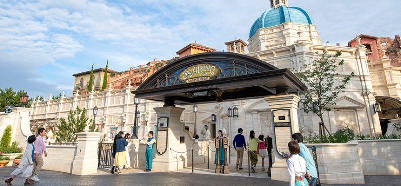 5 khu tham quan được yêu thích nhất ở Tokyo Disney Sea