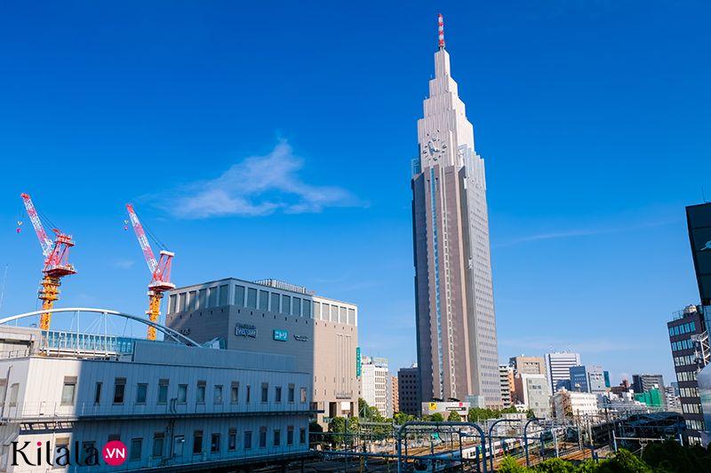 10 tòa nhà chọc trời cao nhất Nhật Bản