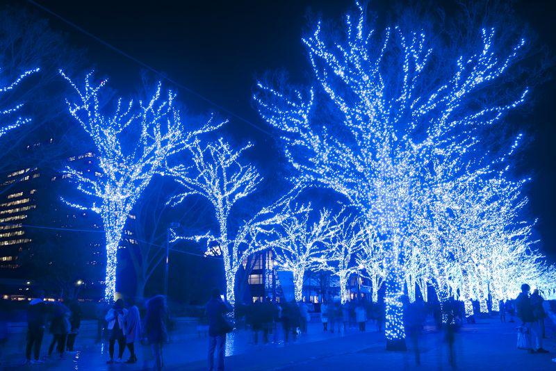 lễ hội ánh sáng Nhật Bản