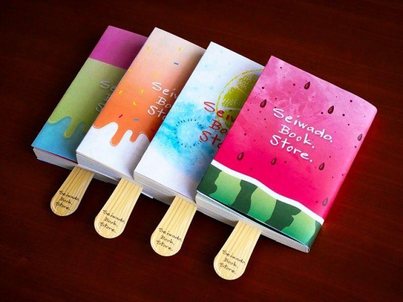 bọc sách chất lừ từ cửa hàng sách ở Osaka