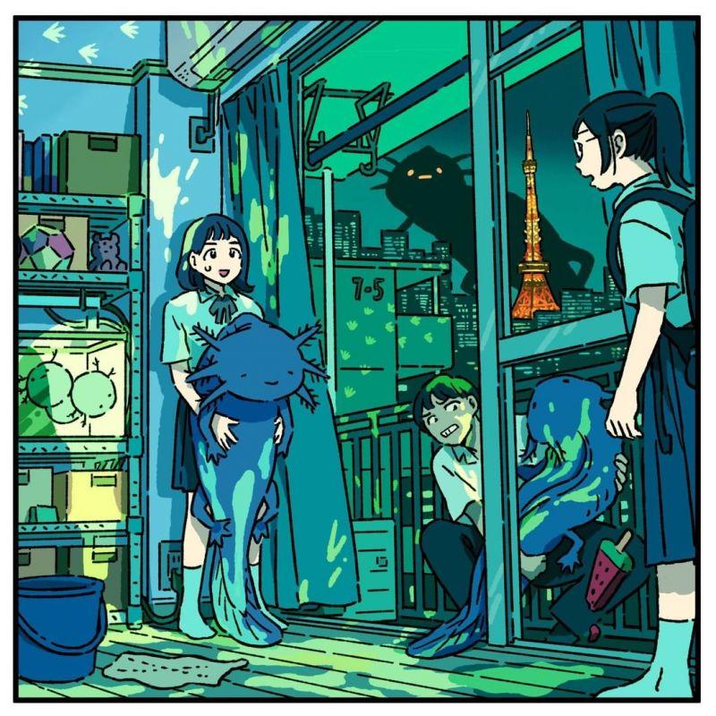 Akene Malbeni và những bức họa ấn tượng về Tokyo