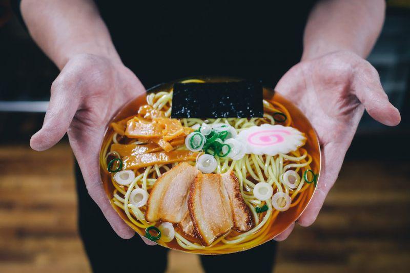 mô hình thức ăn giả của người Nhật