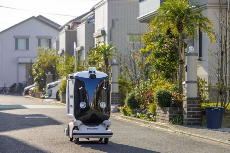 thử nghiệm giao hàng tận nhà bằng robot