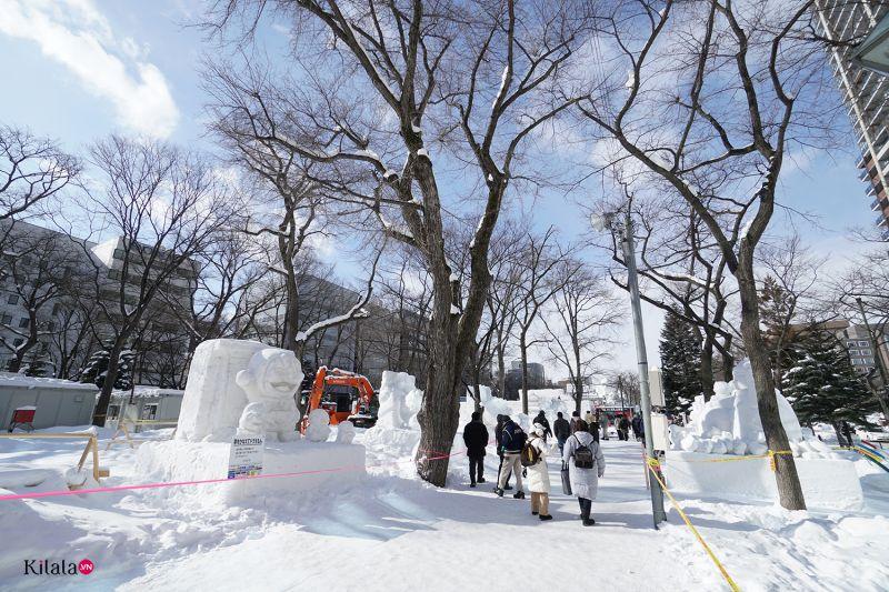 lễ hội tuyết bị hủy bỏ do COVID-19