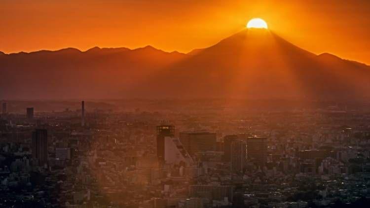 những địa điểm ngắm bình minh tại Nhật