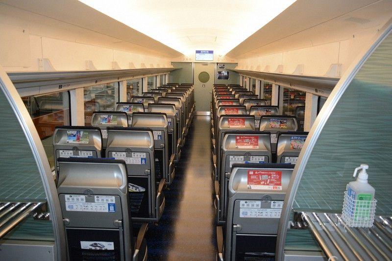 các toa tàu dành riêng cho khách nước ngoài khi đến Nhật