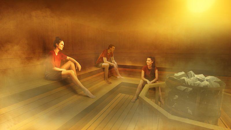 teamLab ra mắt triển lãm mới kết hợp giữa nghệ thuật và phòng tắm hơi