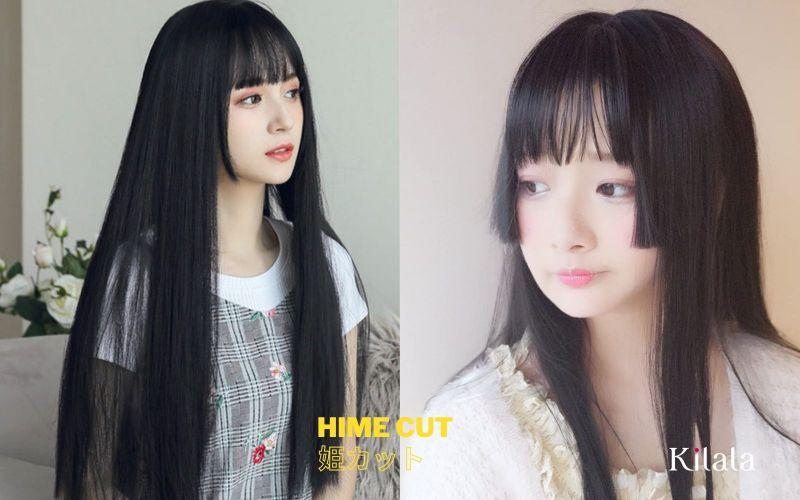 kiểu tóc công chúa Nhật Bản